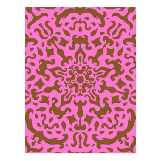 Damasco rosado postales