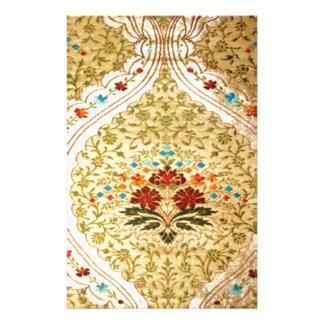 Damasco veneciano de oro papeleria