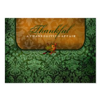 damasco verde 311-Thankful Anuncio Personalizado