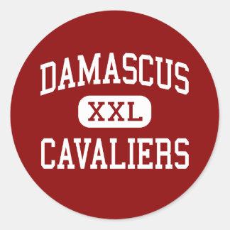 Damascus - Cavaliers - Middle - Damascus Virginia Sticker