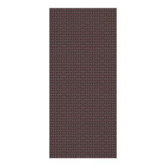 Damask024 CHOCOLATE BROWN DAMASK PATTERN WALLPAPER Rack Card