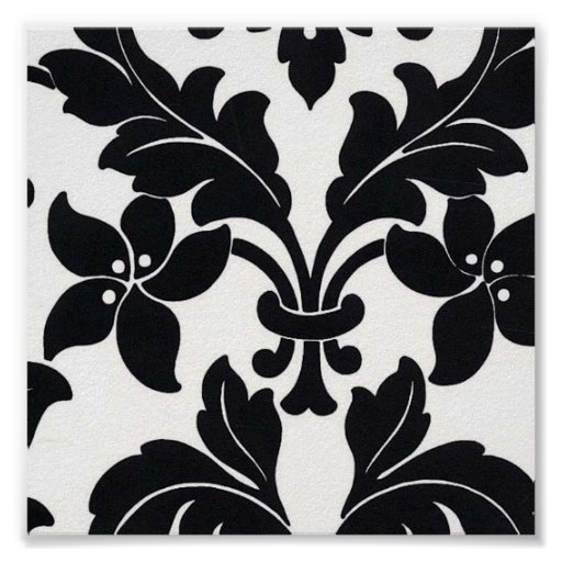 Damask4 Posters