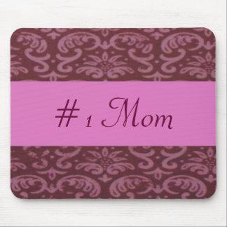 Damask #1 Mom Mouse Pad