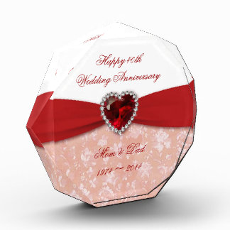 Damask 40th Wedding Anniversary Design Award
