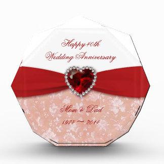 Damask 40th Wedding Anniversary Design Award