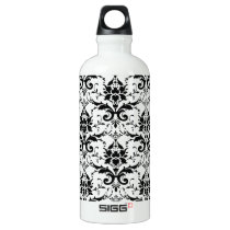 Damask Aluminum Water Bottle