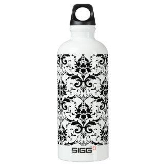 Damask Aluminum Water Bottle