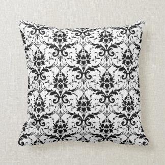 Damask American MoJo Pillo white Pillow