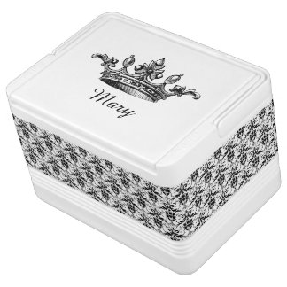 Damask and Crown Custom Can Cooler