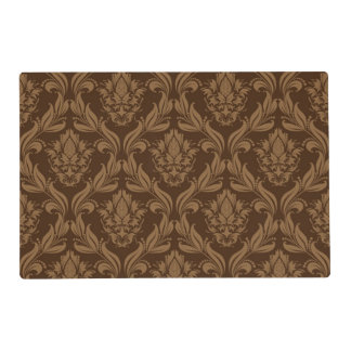 Damask background 2 placemat