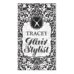 Damask Baroque Hair Stylist Appointment Cards