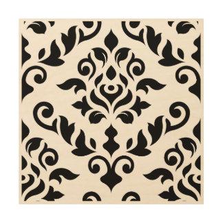 Damask Wall Art baroque wood wall art | zazzle
