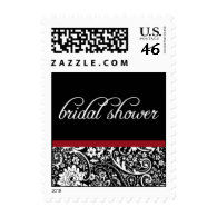 Damask Beauty-Bridal Shower-Small Postage