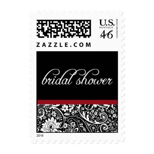 Damask Beauty-Bridal Shower-Small Postage