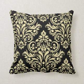 Black And Ivory Throw Pillows : Renaissance Pillows - Decorative & Throw Pillows Zazzle