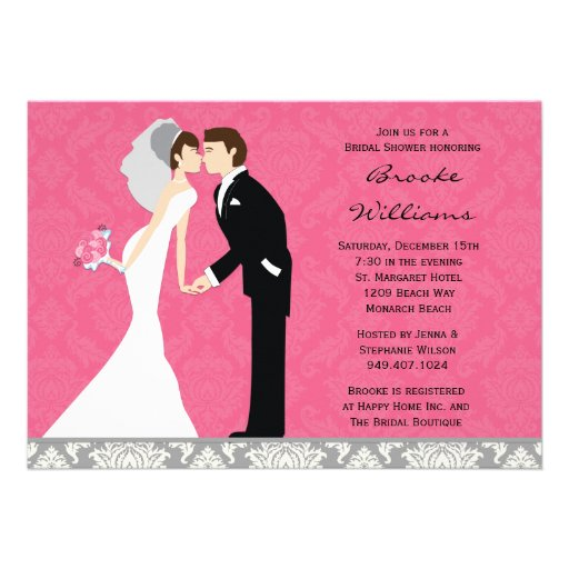 Wedding Shower Gift For Groom : ... bridal shower in style with this modern and chic pink and grey bridal