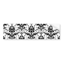 Damask Bumper Sticker