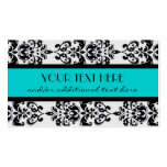 Damask Double-Sided Standard Business Cards (Pack Of 100)