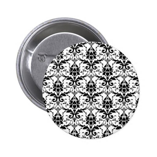 Damask Buttons