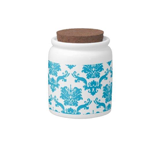 Damask Candy Jars
