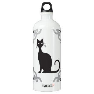 Damask cat water bottle
