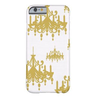 Damask chandelier vintage girly chic pattern barely there iPhone 6 case