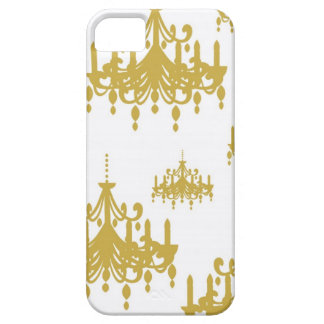 Damask chandelier vintage girly chic print pattern iPhone 5 case