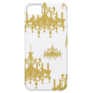 Damask chandelier vintage girly chic print pattern iPhone SE/5/5s case