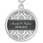 Damask Couples Necklace