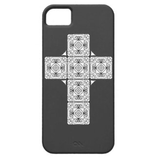 Damask Cross Holy Case iPhone 5 Cases