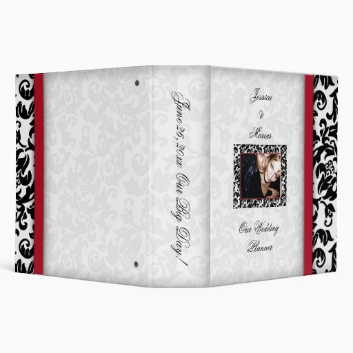Damask Delight 3 Ring Binders