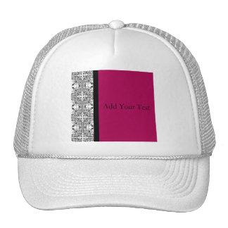 Damask Delight in Cherrystone Red Trucker Hat