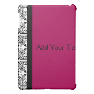 Damask Delight in Cherrystone Red iPad Mini Cases