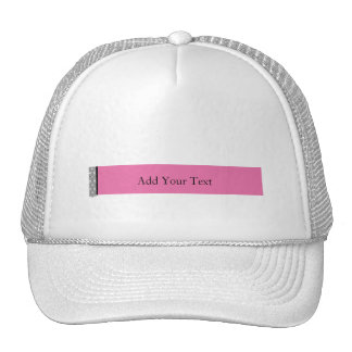 Damask Delight in Pink Manage this category Trucker Hat