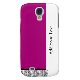 Damask Delight in Purple Galaxy S4 Covers