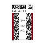 Damask Delight Template Postage