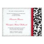 Damask Delight Wedding Invitation