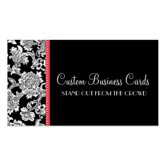 Damask Dot Business Card Templates