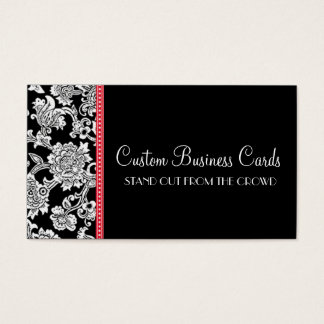 Damask Dot Business Card