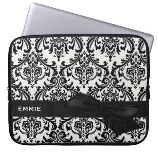 DAMASK Electronics Bag-BLACK TIE AFFAIR Computer Sleeve