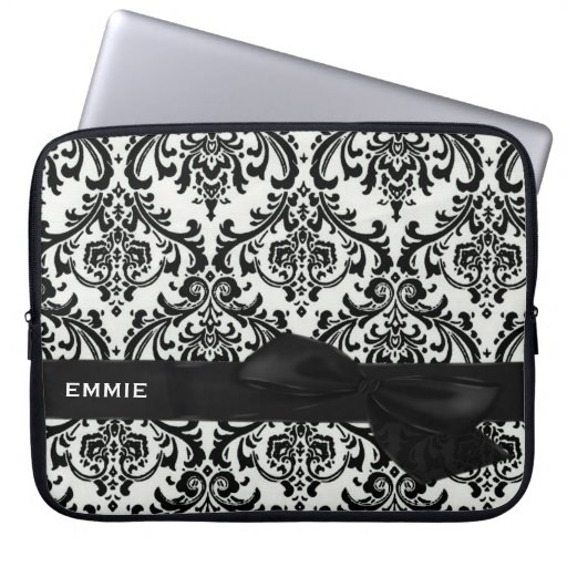 DAMASK Electronics Bag-BLACK TIE AFFAIR Laptop Computer Sleeves