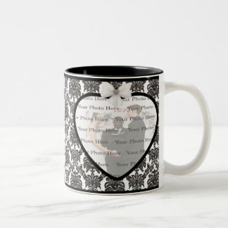 Damask Elegance Wedding Mug