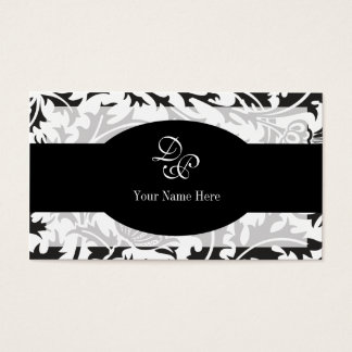 Damask Elegant Business Card Design Template