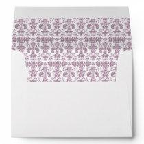 Damask Envelope Liner