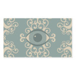 Damask Eyeball Psychic Reader Cards Double-Sided Standard Business Cards (Pack Of 100)