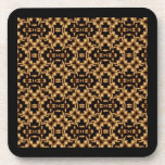 Damask French Lace Drink Coaster