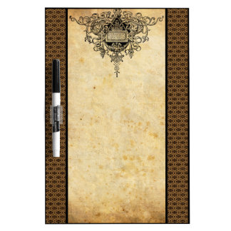 Damask French Lace Dry-Erase Board