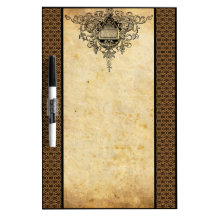 Damask French Lace Dry-Erase Boards
