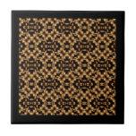 Damask French Lace Tile/Trivet/Coaster