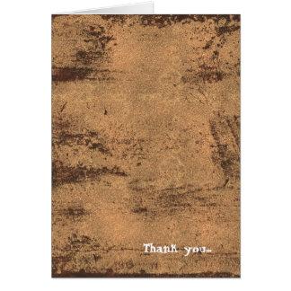 Damask Heart Steampunk Goth Wedding Greeting Card